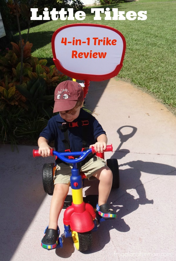 Little Tikes 4 in 1 Trike Review