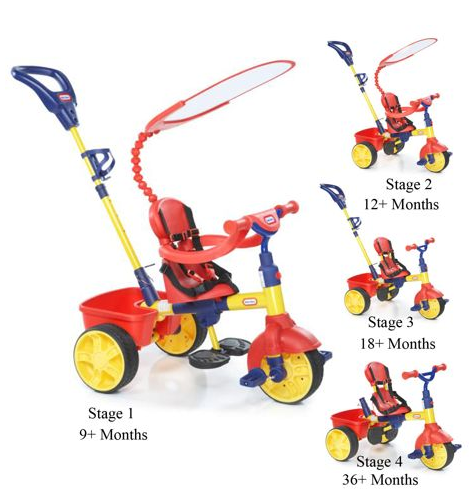 Little Tikes 4 in 1 Trike Stages