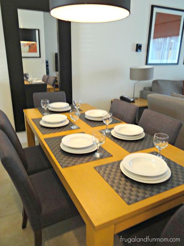 Dining Room at Encantada Resort Kissimmee Florida