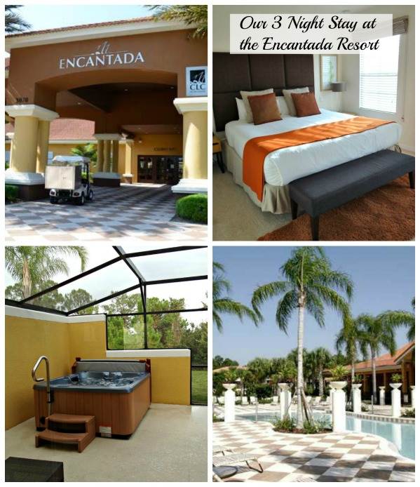 Stay at the Encantada Resort Orlando Kissimmee Florida