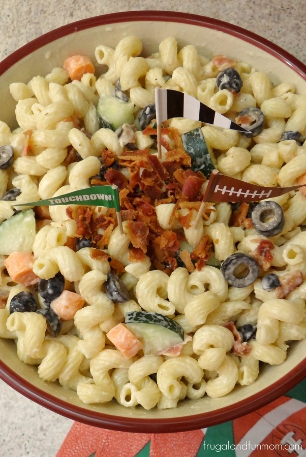 Bacon and Vegetable Pasta Salad Photo