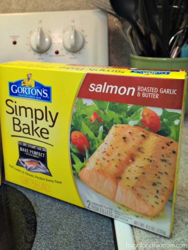 Gorton's Salmon Roasted Garlic and Butter Simply Bake