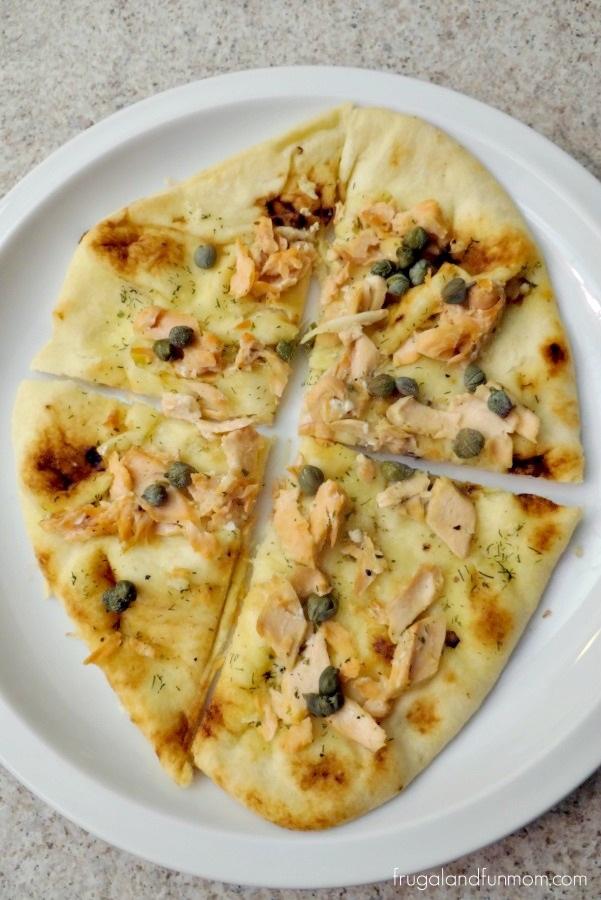 Salmon and Capers Pizza Recipe
