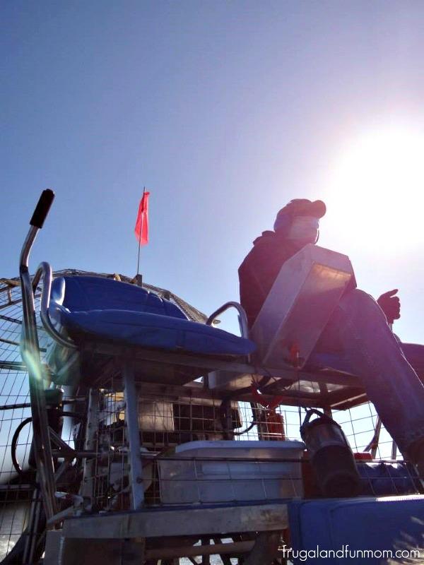 Driver at Black Hammock Airboat Adventures