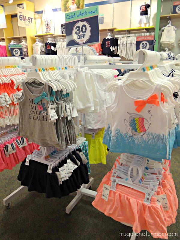 Girls Spring and Nautical Clothes at OshKosh BGosh