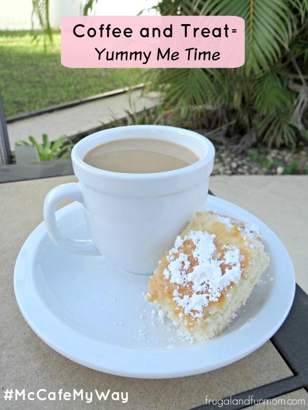 McCafe Coffee and Banana Sour Cream Squares