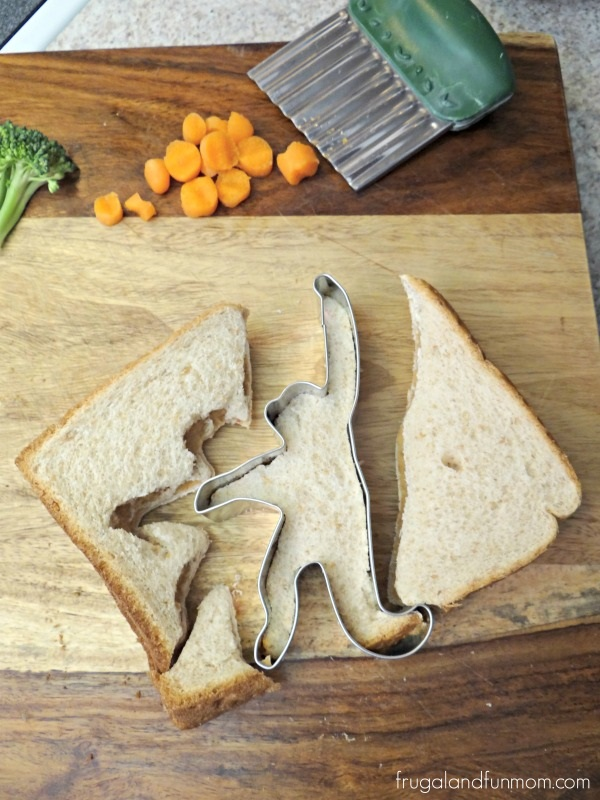 Monkey Shaped Sandwich