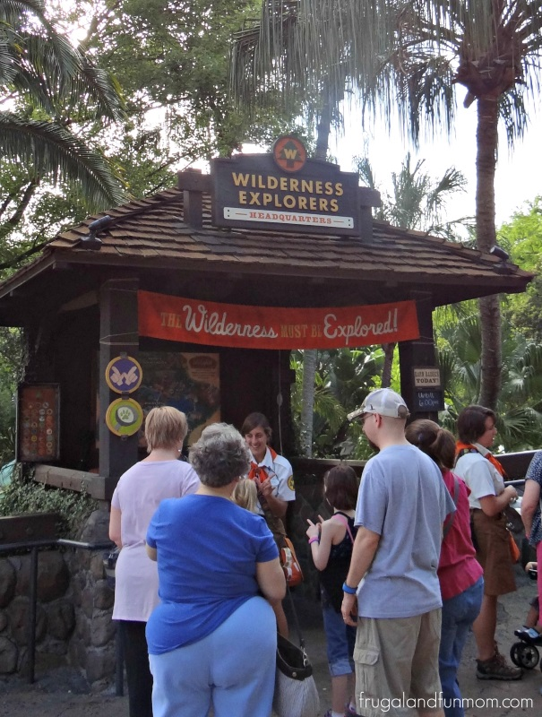 Wilderness Explorers Guide Headquarters