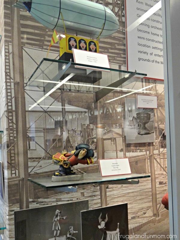 Original Animators model for Captain Hook at Walt Disney Archives