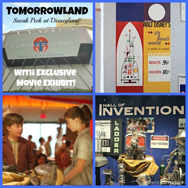 TOMORROWLAND Sneak Peek at Disneyland With Exclusive Movie Exhibit!