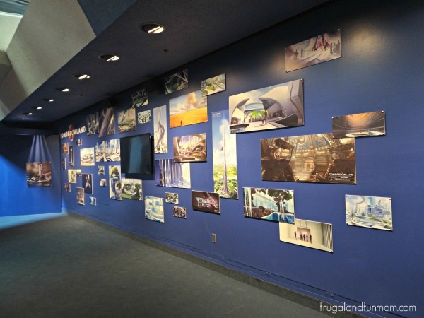 Tomorrowland Exhibit at Disneyland