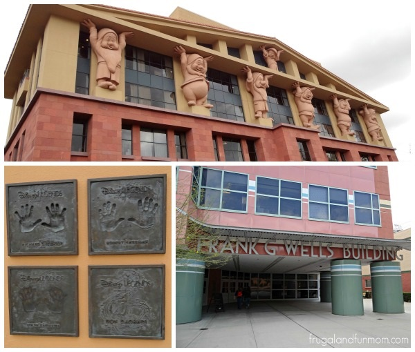 Tour around Walt Disney Studios