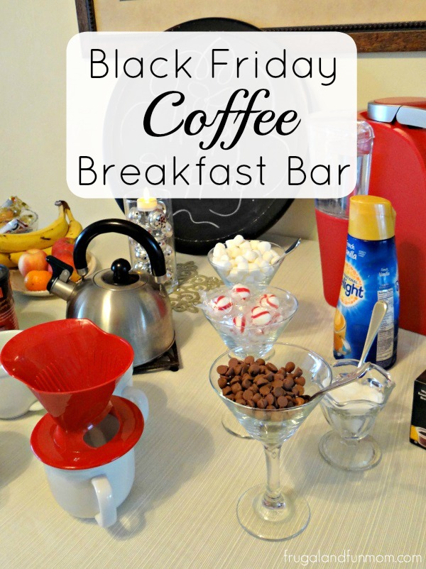 Black Friday Coffee Breakfast Bar