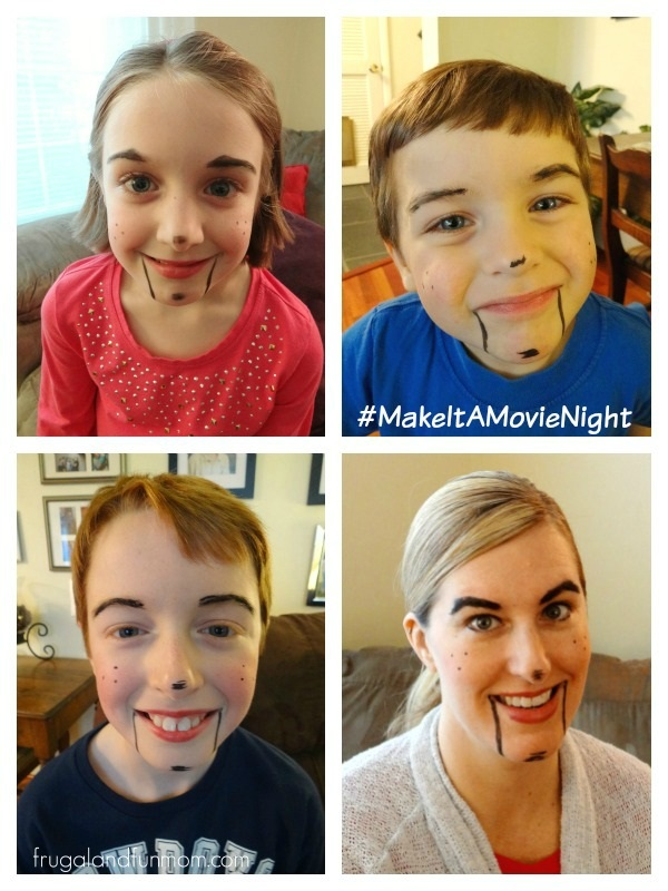 Slappy Makeup on for Goosebumps