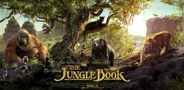 the jungle book character poster
