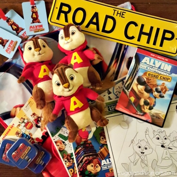 Alvin and The Chipmunks The Road Chip Movie Party Package