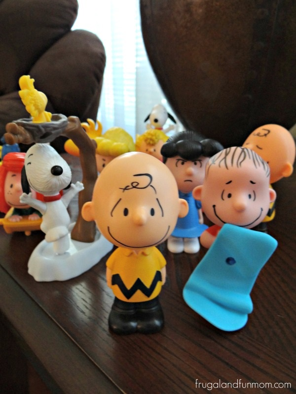 Peanuts Figurines from McDonalds Happy Meals