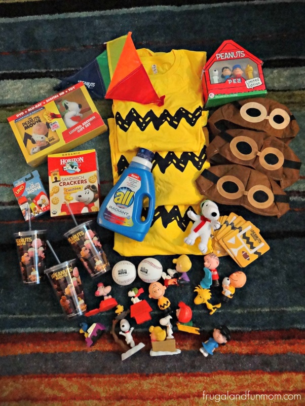 Peanuts Movie Night Party Package