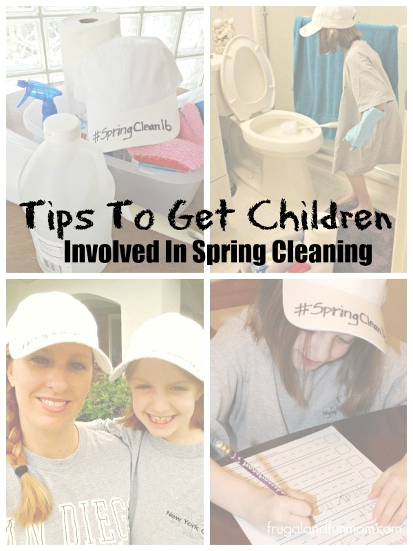 Tips To Get Children Involved In Spring Cleaning