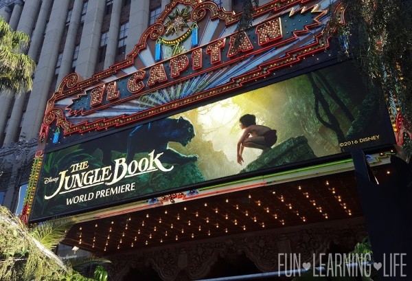 El Capitan Theatre for The Jungle Book Premiere