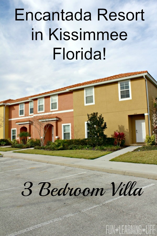Encantada Resort in Kissimmee Florida 3 bedroom villa