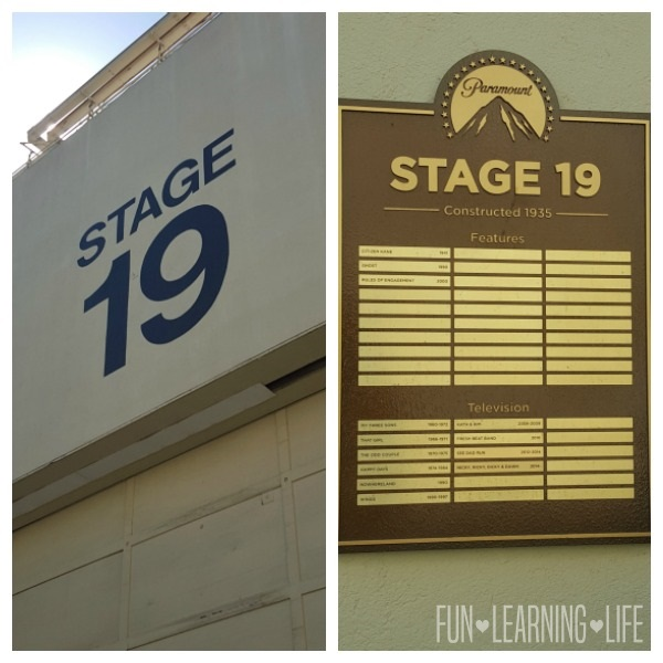 Stage 19 at Paramount Pictures